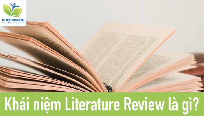 Khái niệm Literature Review là gì?