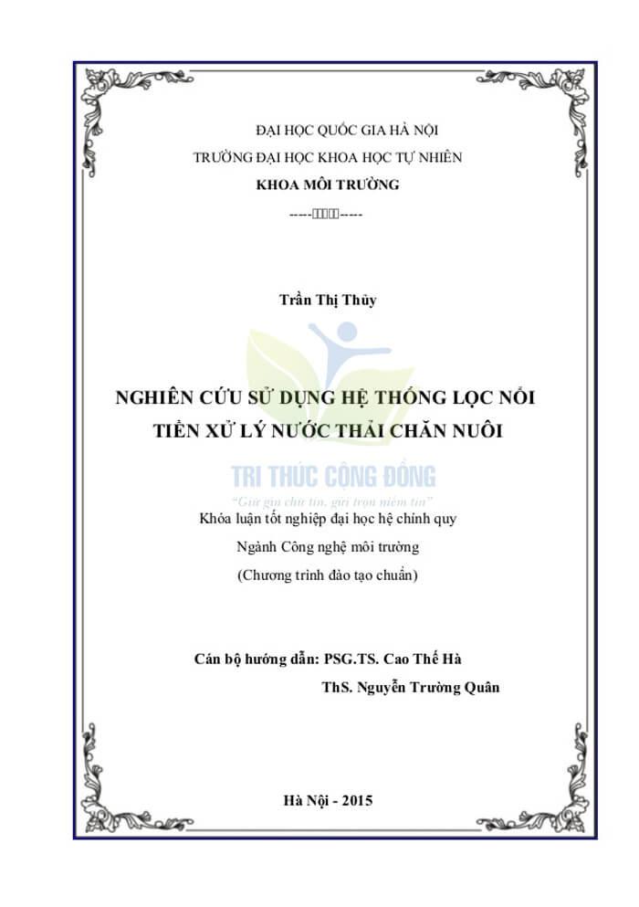 Mẫu bìa khóa luận tốt nghiệp UET