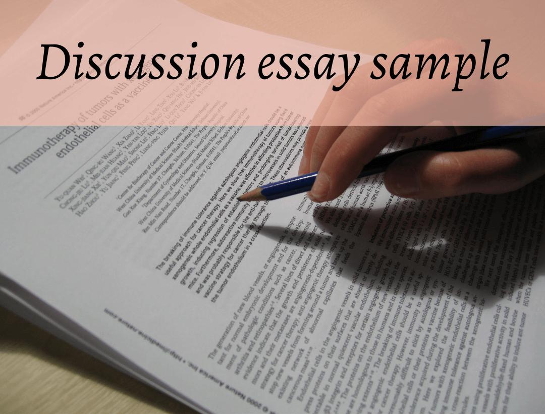 Mẫu discussion essay hoàn chỉnh