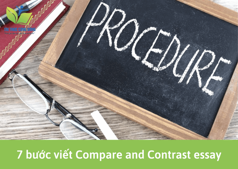 7 bước viết Compare and Contrast Essay