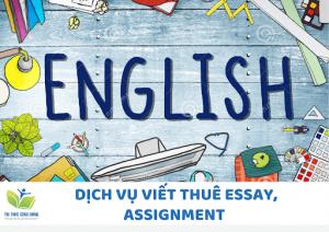 Báo giá Dịch vụ viết essay, làm assignment thuê Trọn Gói A-Z