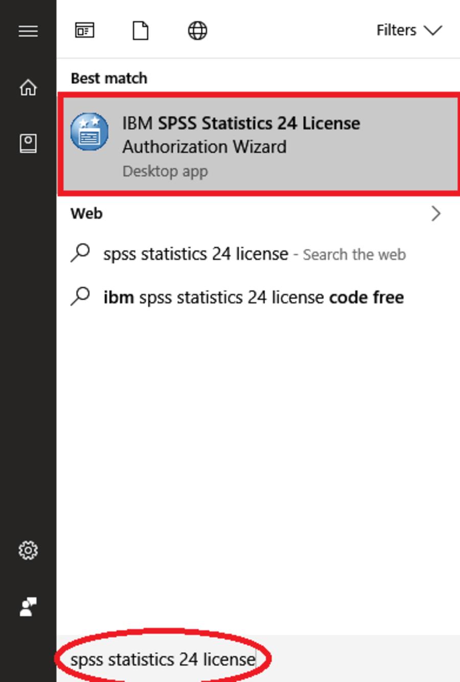 Mở phần mềm SPSS 20