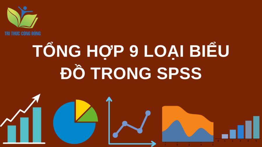 Tổng hợp 9 loại biểu đồ trong SPSS