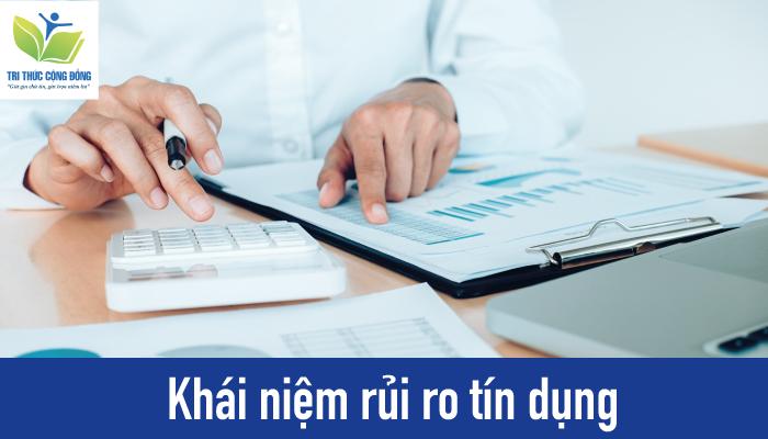 Ảnh 1: Khái niệm rủi ro tín dụng