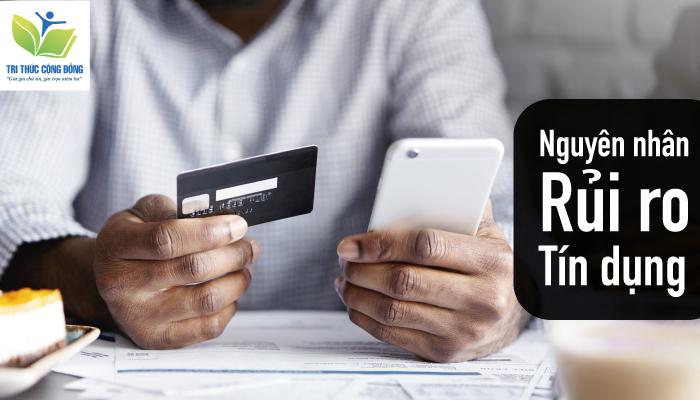 Ảnh 3: Nguyên nhân rủi ro tín dụng