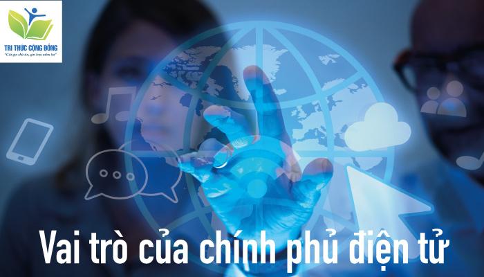 Hình ảnh Vai trò của chính phủ điện tử